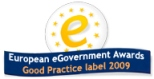 European eGovernment Awards. Good Practice label 2009